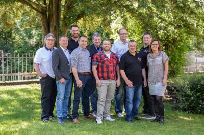 Bild der Vorstandschaft