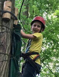"""TTC-Jugendausflug 2017 zum Waldklettergarten """"Abenteuer im Wald"""" in Kenzingen"""
