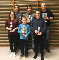 TTC-Vereinsmeisterschaften 2017