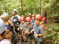 TTC-Jugendausflug 2013 zum Natur-Hochseilgarten in Triberg
