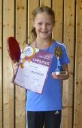 Lena Vögele qualifiziert sich für den Verbandsentscheid der Mini-Meisterschaften
