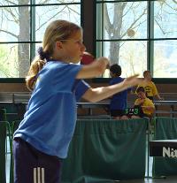 Jana Neumaier bei den BaWü U15 in Odenheim