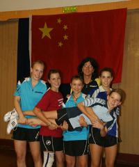 Jana Neumaier im Sommer-Trainingslager in China