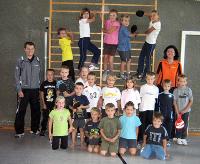 Tischtennis-Schnupperkurs beim TTC Steinach