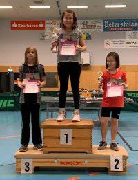 Lena Messuti qualifiziert sich für den Verbandsentscheid der Mini-Meisterschaften